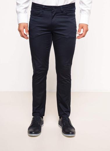DeFacto Slim Fit 5 Cep Pantolon Lacivert